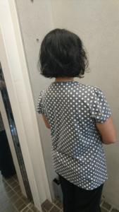 ヘアドネーションカットafter